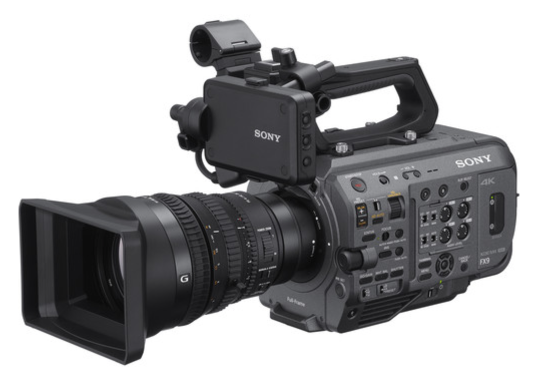 Just in, the new hot camera the Sony FX-9, the newest member of the Venice Cinema camera family!  It delivers gorgeous images with its full-frame 6K sensor and Sony's S-Cinetone look, making this camera stand out in the world of video production.
